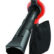 Black + Decker 3.000 Watt 3-in-1 Elektro-Laubsauger, Metall-Häckslerad, bis zu 418km/h Blasgeschwindigkeit,GW3030 - 1